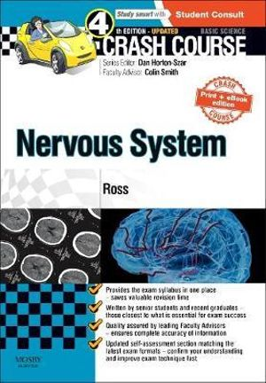 Cover of Crash Course Nervous System Updated Print + EBook Edition