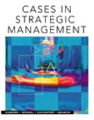 Cover of Cases in Strategic Management