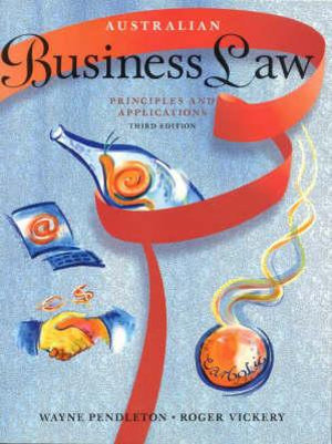 Cover of Australian Business Law
