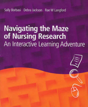 Cover of Navigating the Maze of Nursing Research