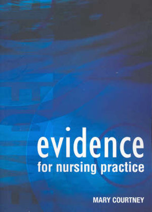 Cover of Evidence for nursing practice