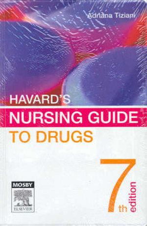 Cover of Havard's Nursing Guide to Drugs