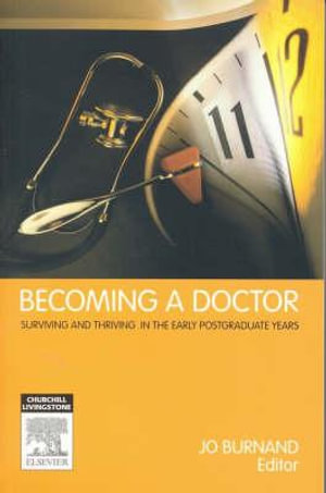 Cover of Becoming a Doctor