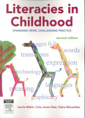 Cover of Literacies in Childhood 2nd edition