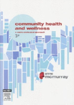 Cover of Community Health and Wellness