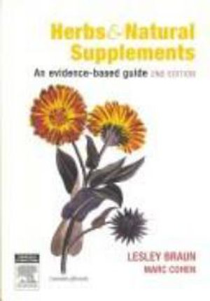 Cover of Herbs and Natural Supplements