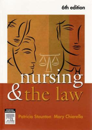 Cover of Nursing and the Law