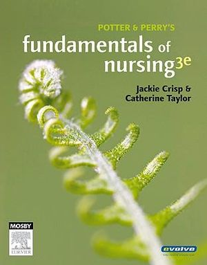 Cover of Potter and Perry's Fundamentals of Nursing