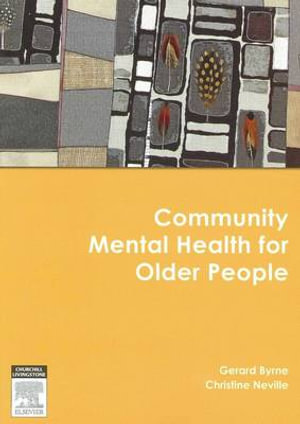 Cover of Community mental health for older people