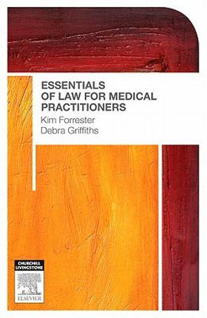 Cover of Essentials of Law for Medical Practitioners