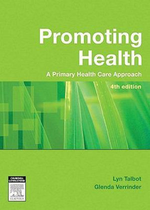 Cover of Promoting Health