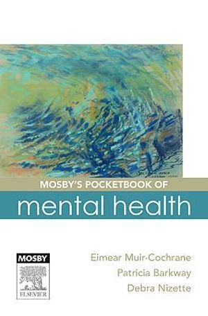 Cover of Mosby's pocketbook of mental health + HHD
