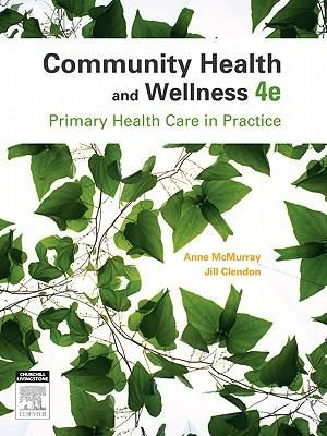 Cover of Community Health and Wellness 4e