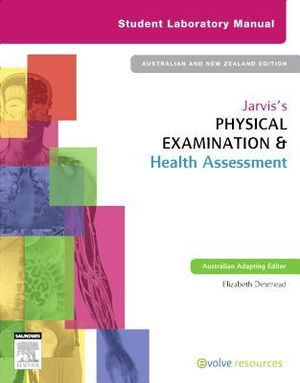 Cover of Jarvis's Physical Examination and Health Assessment