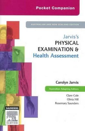Cover of Jarvis's Physical Examination & Health Assessment
