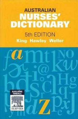 Cover of Australian Nurses' Dictionary
