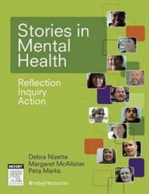 Cover of Stories in Mental Health 1e