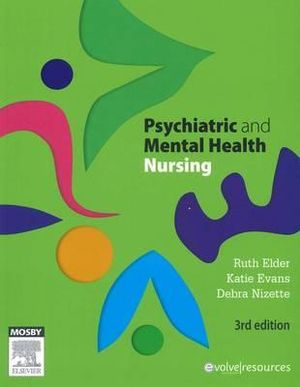 Cover of Psychiatric and Mental Health Nursing 3rd Edition