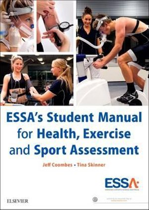 Cover of ESSA's Student Manual for Health, Exercise and Sport Assessment