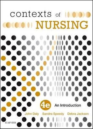 Cover of CONTEXTS OF NURSING 4E