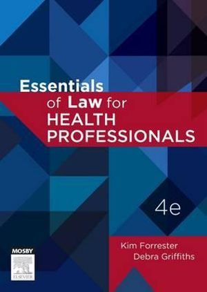 Cover of Essentials of Law for Health Professionals