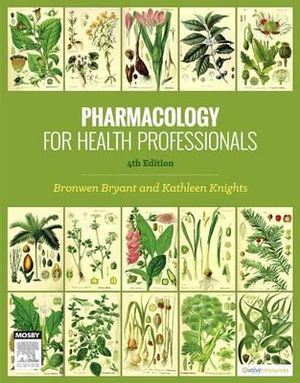 Cover of Pharmacology for Health Professionals