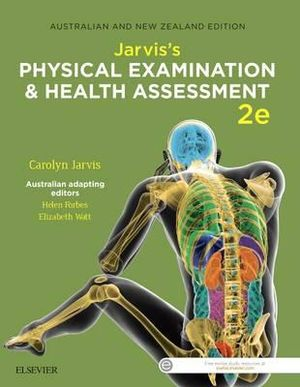 Cover of Jarvis's Physical Examination and Health Assessment Anz 2e