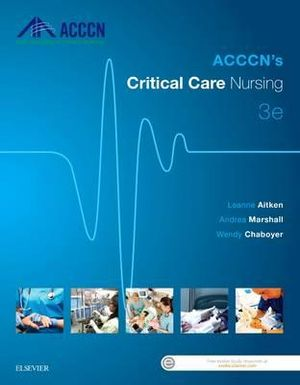 Cover of Acccn's Critical Care Nursing