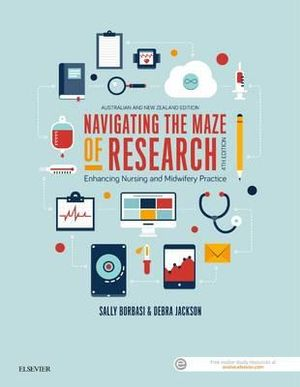 Cover of Navigating the Maze of Research