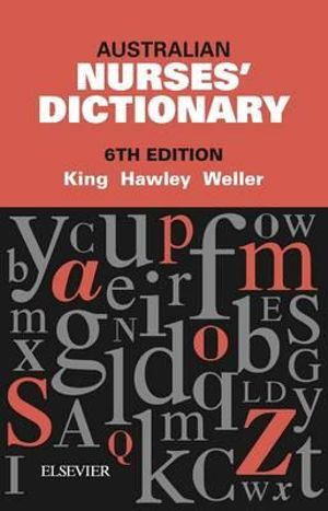 Cover of Australian Nurses' Dictionary