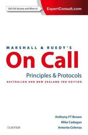 Cover of Marshall and Ruedy's on Call: Principles and Protocols
