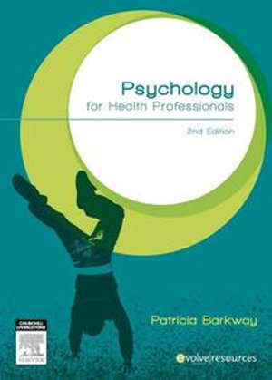 Cover of Psychology for health professionals