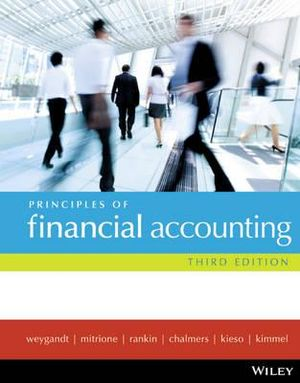 Cover of Principles of Financial Accounting 3E