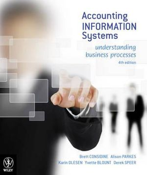 Cover of Accounting Information Systems Understanding Business Processes 4E