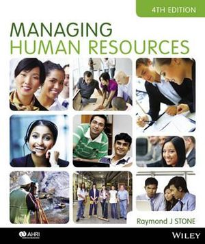 Cover of Managing Human Resources 4E