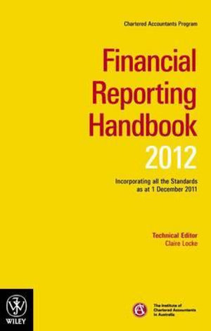 Cover of Chartered Accountants ... Handbook 2012: Financial reporting handbook 2012