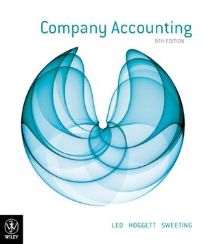 Cover of Company Accounting 9E + WileyPlus Registration Card