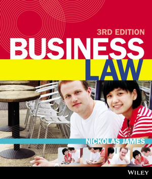 Cover of Business Law 3E+istudy Version 1