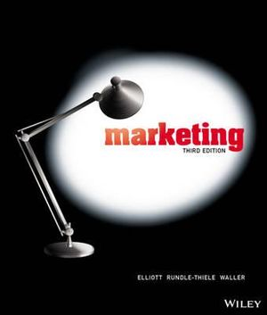 Cover of Marketing (Au) 3E+istudy Version 3 Registration Card