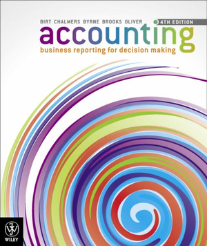Cover of Accounting Business Reporting for Decision Making 4E+istudy Version 3 Registration Card