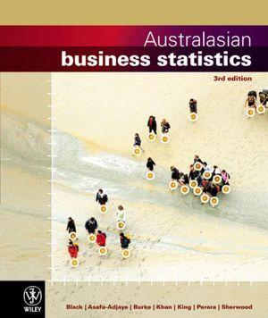 Cover of Australasian Business Statistics 3E+istudy Version1 Card