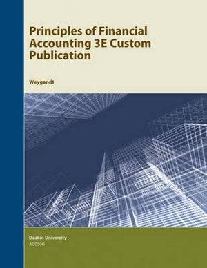 Cover of Principles of Financial Accounting 3e Custom Publication