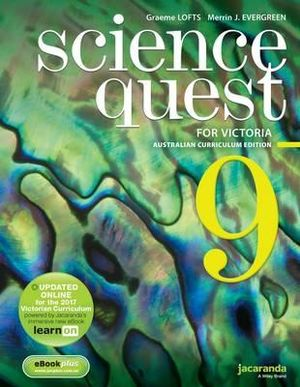 Cover of Science Quest for Victoria Australian Curriculum