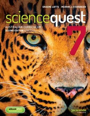 Cover of Science Quest 7 for the Australian Curriculum 2E and EBookPLUS