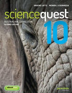 Cover of Science Quest 10 for the Australian Curriculum 2E and EBookPLUS