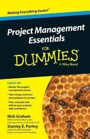 Cover of Project Management Essentials For Dummies, Australian and New Zealand Edition