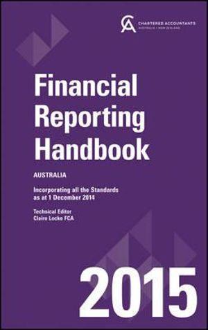 Cover of Financial Reporting Handbook 2015 Australia