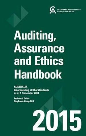 Cover of Auditing and Assurance Handbook 2015 Australia+wiley E-Text Card