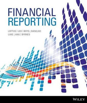 Cover of Financial Reporting+wileyplus Card