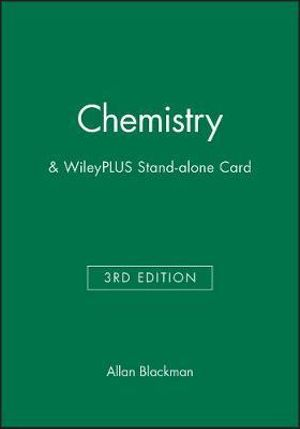 Cover of Chemistry 3E+wileyplus Stand-Alone Card